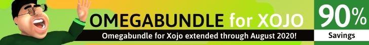 Omegabundle for Xojo 2020 Developer Tools Bundle Extended