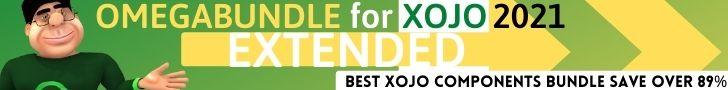 Omegabundle for Xojo 2021 Developer Tools Limited Time Bundle Released