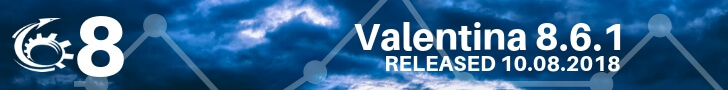 Valentina 8.6.1 Improves SQL Editor Search & Replace, MySQL 8 Support & More